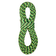 BlueWater Ropes 10.5mm x 50M Accelerator Std Dynamic Single Climbing Rope - NGBK #BlueWaterRopes