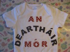 For T. #crafternoon #crafting #BigBrother #newbaby #Gaeilge