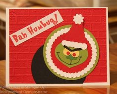 Lattes, Stamps, and Everything Else: BAH HUMBUG GRINCH PUNCH ART
