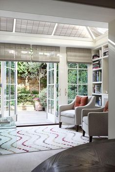 Discover conservatory design ideas on HOUSE - design, food and travel by House & Garden. Light and space is added to the ground floor of this house with the addition of a conservatory extension. Orangerie Extension, Conservatory Extension, Conservatory Design, Victorian Conservatory, Victorian Homes, Modern Victorian, Modern Interior, Interior And Exterior, Interior Design