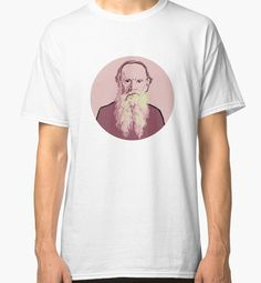 Leo Tolstoy t-shirt by savantdesigns