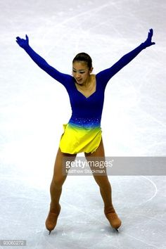 LAKE PLACID, NY - NOVEMBER 14: Fumie Suguri of Japan competes in the Short Program during the Cancer.Net Skate America at Herb Brooks Arena on November 14, 2009 in Lake Placid, New York. (Photo by Matthew Stockman/Getty Images)