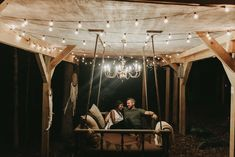 You're in your own world on this rope swing bed. (photo by Brian Schindler)