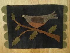 """""""Wool Bird"""" design by Maggie Bonanomi"""