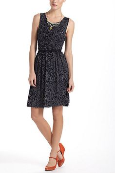 Swiss Dots Dress #anthropologie