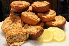 Zesty and refreshing Lemon Muffins http://mydukandiet.com/recipes/lemon-muffins.html