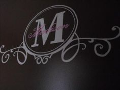 Wall Monogrammed Initial