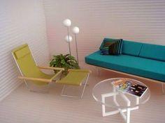 Resultado de imagem para casas minimalistas de muñecas
