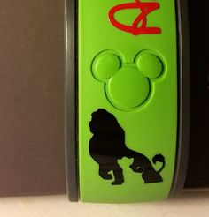 FREE SHIPPING! Lion King Character and Name Magic Band Decal