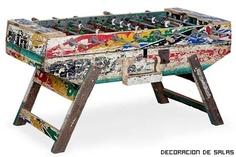 Artlantique - muebles hechos con barcos reciclados
