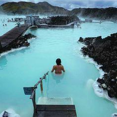 "Travel Earth  on Instagram: "" Blue Lagoon, Iceland. #aroundtheworldpix Photography by @threeifbysea"""