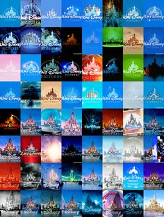 64 variations of the Walt Disney Pictures intro. From The Black Cauldron (1985) to Cinderella (2015). Including some variations from trailer