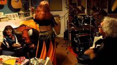 Bailando en Fiesta Aniversario Percusionista