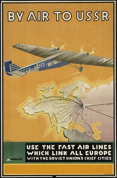 By air to USSR by Boston Public Library, via Flickr