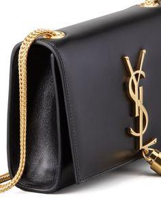 Must Have: Saint Laurent's Cassandre, Small Tassel Crossbody Bag Black: