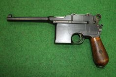 Introduced in 1896 the C96 (Construktion 96) was made until 1937, by which time approximately one million had been produced. Although originally rejected by the German military, the C96 proved to be a commercial success. It was subsequently adopted by Turkish, Italian, Persian and Austrian militaries, and in the First World War the German army ordered 150,000 in 9mm.