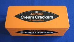 Jacob's Cream Crackers storage / biscuit tin, c.1970s (SOLD) - www.vanishederas.com
