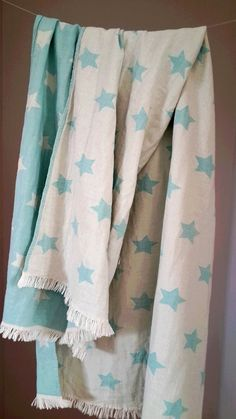 Swaddle Baby Blanket  Baby Care Blanket by TheMoonKidsBoutique