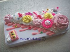 Custom Made sweet deco cell phone case