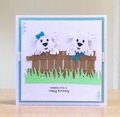 Birthday Card, Handmade - Cute Dog Birthday Card - Maltese/ Schauzer/ Dachshund Birthday Card For Ch 50th Birthday Cards, Dog Birthday, Handmade Birthday Cards, Handmade Cards, Birthday Celebration, Dog Cards, Kids Cards, Cards Diy, Wakefield