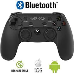 7d694cf19da5 Matricom G-Pad XYBA Wireless Rechargeable Bluetooth Pro Game Pad Joystick  Controller (Samsung Gear VR and G-Box Compatible!) Kyle · Virtual Reality  ...