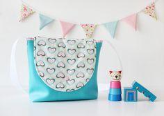 Kindergartentasche mit Herzen von nähfein auf DaWanda.com