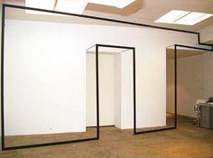 "Jose Davila, Wall Games, 2004, aluminum structure "" via iheartmyart """