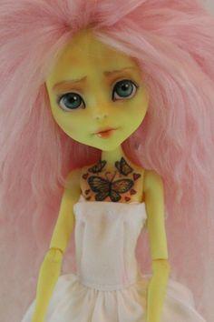 OOAK Custom Create-A-Monster Bee Girl Monster High Repaint  By Melissa