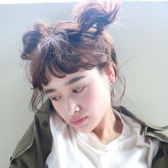 Hair Arrange, Asian Hair, Hair Inspo, Pretty Woman, Cool Hairstyles, Hair Color, Hair Beauty, Dreadlocks, Lady