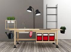 Ikea hack. Via Treehugger
