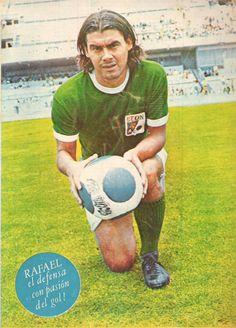 Rafael Albrecht, DEFENSA DEL LEÓN FÚTBOL CLUB, EN LOS AÑOS 70s.