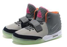 ... Nike Air Yeezy 2 (II) Grey Pink Orange ...