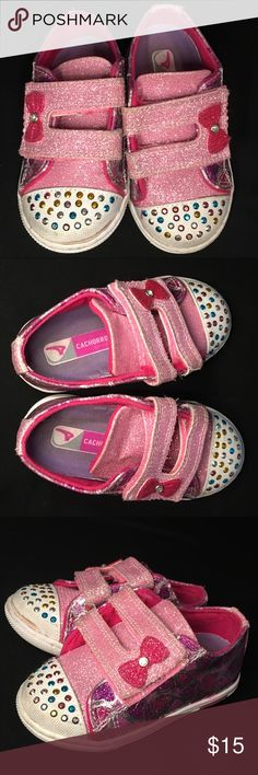 Super cute Pink Sparkly Toddler Tennis Shoes!😍 Super cute Pink Sparkly Toddler Tennis Shoes!😍 Great condition!!! perfect for a little princess!! Shoes Sneakers