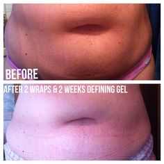 My results with our amazing products. http://wrappingwithwelch.myitworks.com