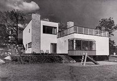 Alva and Jan Myrdal's house in Stora Mossen