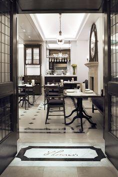 The new Burberry café called Thomas's on Regent street