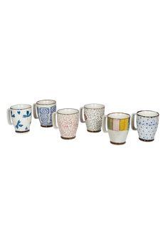 Venta Ard'Time / 33441 / Vajilla / 6 tazas de cerámica 40 cl