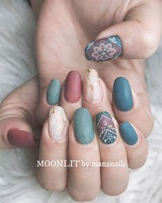 In look for some nail designs and some ideas for your nails? Here's our list of must-try coffin acrylic nails for trendy women. Cute Nails, Pretty Nails, Hair And Nails, My Nails, Oval Nails, Neon Nails, Nagellack Design, Fall Nail Art Designs, Autumn Nails