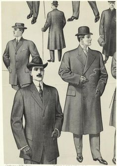 gentlemen / suit illustration