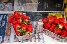 Strawberries Athens, Greece
