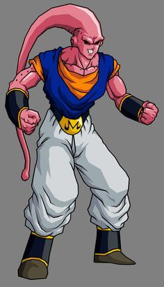 Super Buu - Vegetto Absorbed by ~hsvhrt on deviantART