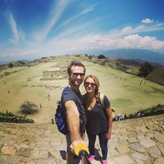 Always on top! #montealban #alwaystogether #ontop #gopro #fun #temple #Mexique #Oaxaca #cool #history #beautiful #insta #photo #hugetemple #instapic #travel #niceview #AVDL