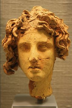 Faces of Ancient Etruscan.