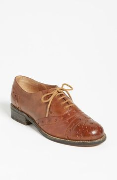 O is for oxfords.