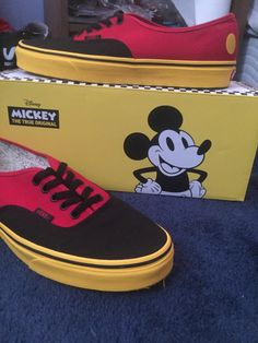 08691d1f5fe0e1 Mickey Mouse Vans baby