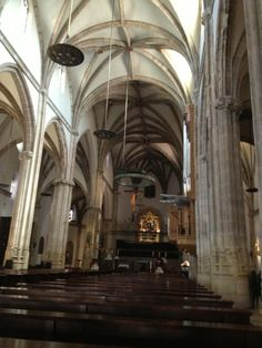 Cathedral of the Santos Niños Amazing Architecture, Madrid, Interior, Saints, Cathedrals, Haciendas, Temple, Monuments, Palaces