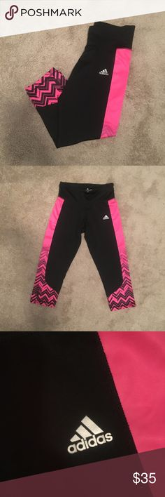 ADIDAS NWOT- perfect condition  ** Bundle your likes for a private offer!! ** ( private offers are 10-30% off depending on number of items in your bundle! ) adidas Pants Ankle & Cropped