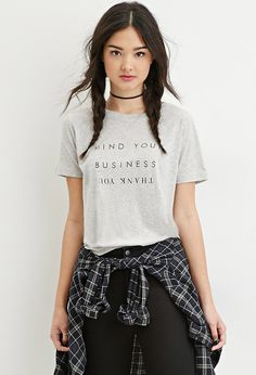 """Camiseta """"Mind Your Business"""" 