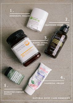 5 natural body care