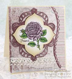 Stamp Talk with Tosh: My English Rose ~ Power Poppy February Release Day
